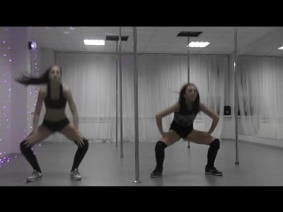 TWERK/ booty dance by Kseniya Molchanova. DS Opium