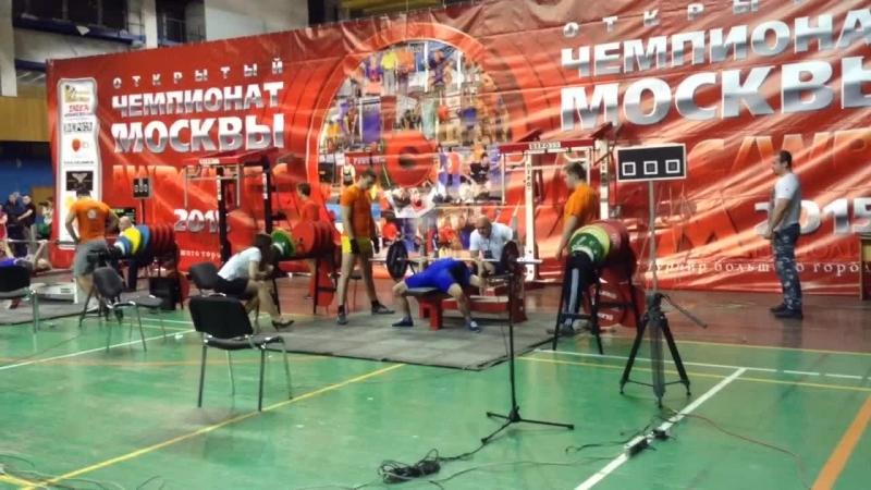 Народный жим, рекорд России, Анжела Кулагина