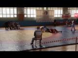 Колядина Валерия, синяя куртка. борьба за выход в полуфинал