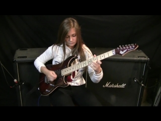 Steve Vai - Paganini 5th Caprice (Crossroads) (cover by Tina S)
