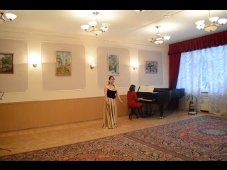 На солнечной поляночке Исполняют Ольга Уткина и Айшат Алиева (фортепиано)