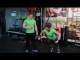 Мастер-класс на TRX-петлях от ведущих инструкторов фитнес-клуба X-Fit Ак Барс на телеканале ЭФИР