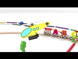 Cartoons for children. Nursery rhymes for babies. Learn ABC song with alphabet train (3).mp4