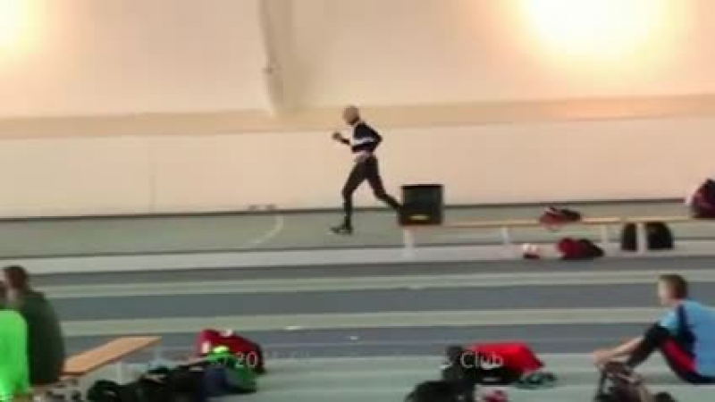 This weekend, 95-year-old Charles Eugster, set a new age group world record by running the indoor 200m in a quite incredible 55.