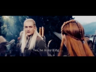 Legolas & Tauriel -- Say Something