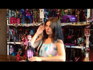 Monster High 13 Wishes Haunt The Casbah Draculaura обзор на русском