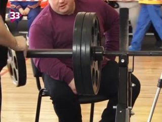 Sbd and powerlifting paralympian in russia