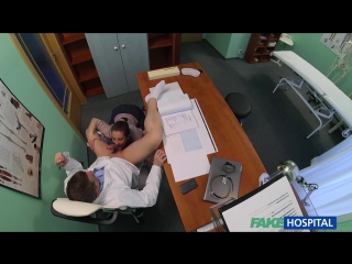 FakeHospital.com: Horny saleswoman strikes a deal with the dirty doctor by sucking and fucking his cock (2015) HD