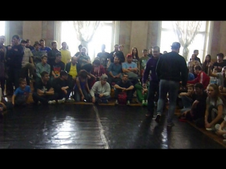 Визитка Bboy R.W. Bboy Snail!NO RULES FAMILY в деле)