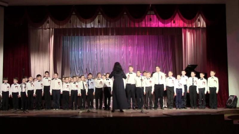 Русская народная песня Во поле береза стояла. Исп. хоровой коллектив мальчиков.