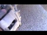 Замена передних колодок на Гранте
