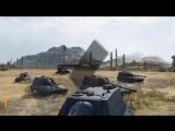 Танкомахач №4 - FV215b (183) против Jagdpanzer E 100 - от ukdpe и Fake Linkoln [World of Tanks] [360p]