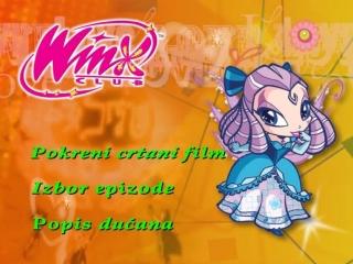 Winx Club Season 2 DVD 2 Menu [Croatian and English Dub]