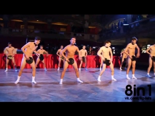 Голые студенты танцуют со шляпами, Чехия / Student dancing naked on Dj Ozma Drinkin 'Boys / GJK 2015