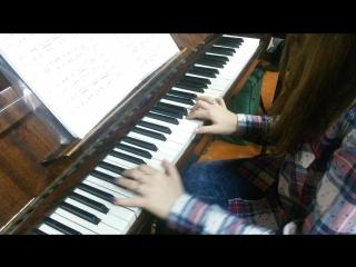Бахти - мелодия из фильма сумерки на фортепиано(Уланкина Ксения)