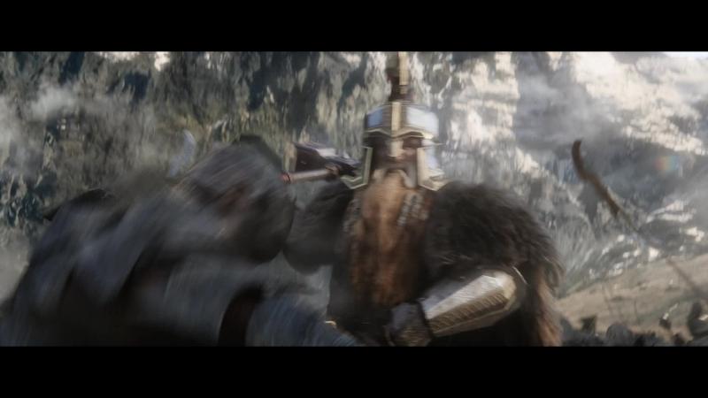 Батл ..батл пяти воинств, гном Даин II Железностоп