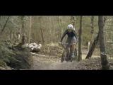 Lauf Forks - Trail racer Вилка Lauf в действии
