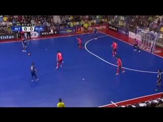 Inter Movistar - Burela Pescados. Cuartos de final. XXVI Copa de Espana