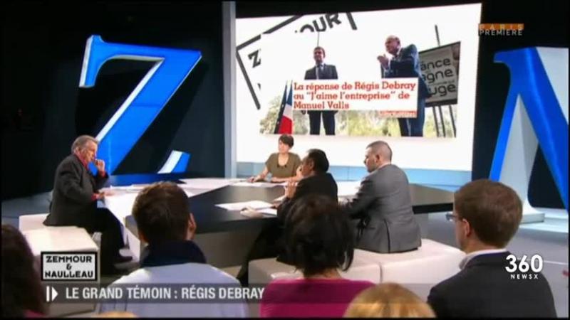 Zemmour Naulleau 28 Novembre 2014 - 2 (Régis Debray)
