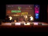 Выступление на International English Song Festival