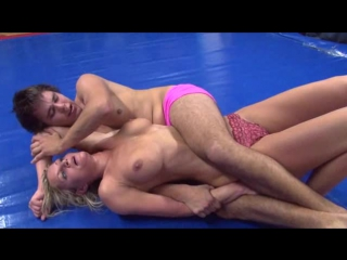 Dww mixed wrestling mary-ann vs patrick