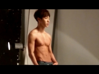 [BTS] KiKwang - Men's Health Magazine March 2015 Issue Photoshoot Making