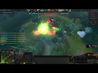 Dota2 FromRussiaWithLove  zeus rampage