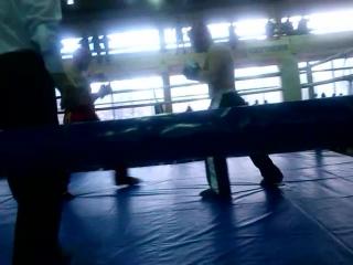 Чемпионат Украины по кикбоксингу (ВПКА) студенты ,фулл-контакт,+90кг ,финал