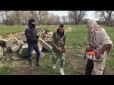 Болгарские цыгане пародируют казнь Исламского государства