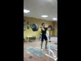 Айдо 220 кг толчок