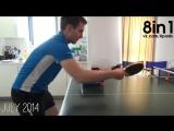 Парень играл в настольный теннис (пинг-понг) каждый день целый год / Guy Plays Table Tennis Every Day for a Year