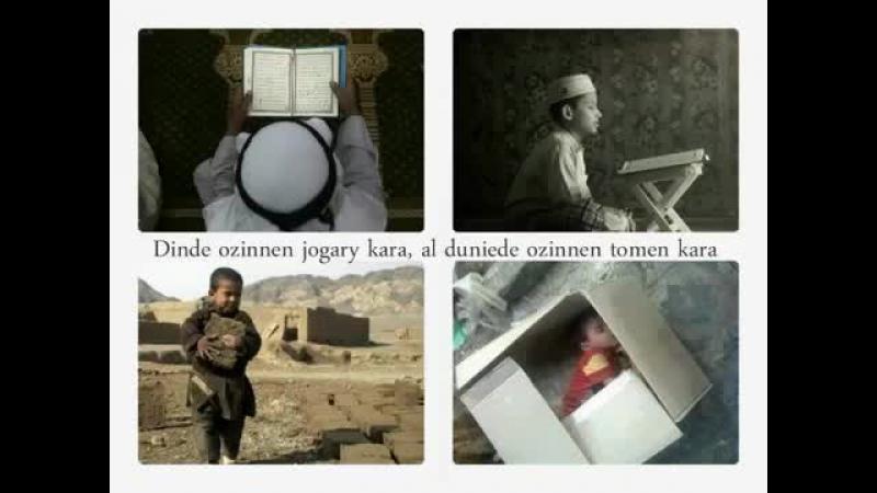 Дарын Мубаров Дүние мәселесінде өзіңнен төменге қара Дін мәселесінде өзіңнен жоғарыға қара