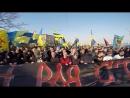 Procession. Ultras FCMK FCSD. Kharkiv. 30.03.2014