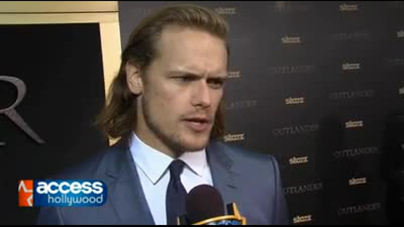 Outlander Premier – NYC Red Carpet Interviews with Sam from Access Hollywood