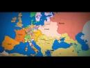 Как менялись границы Европы за последнюю 1000 лет