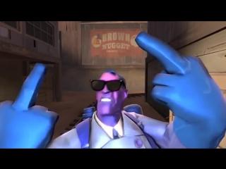 Team Fortress 2 - Pop it Don't drop it - Медики отступают гордо D