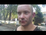 ДНР Моторола - допрос бойца ВСУ 03.04 2015