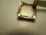 сережки срібні з оніксом + Swarovski