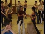 Обучающее видео: танцы латина Cha-Cha-Cha из первых рук. Angel Ortiz урок 1_3