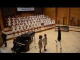 Детский хор поёт известную песню группы Metallica@