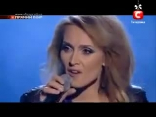 'Rolling In The Deep' Х-Фактор-3 Украина поет Аида Николайчук