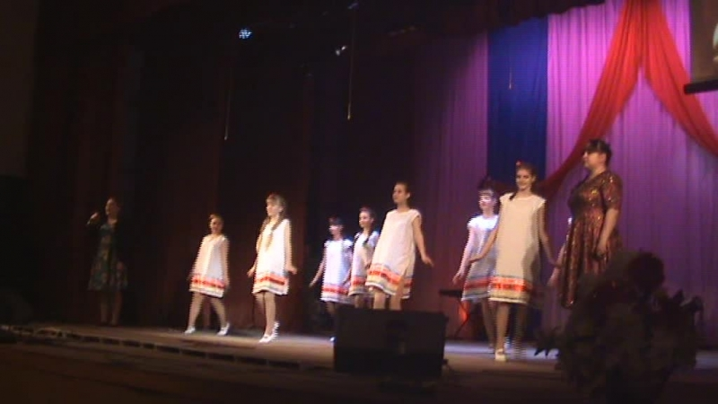 Россия - Мантрова Анастасия, Ларчева Наталья, танцевальная группа Импульс
