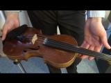 Знакомство со скрипкой на уроках Детского муз.театра)