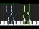 Five Nights at Freddys Song! - The Living Tombstone [Piano Tutorial] (Synthesia)