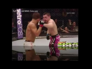 Sergio Pettis Gets His Butt Kicked by Ryan Benoit in UFC 185