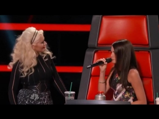 Christina Aguilera & Caitlin Caporale - Impossible (The Voice 8 | Blind Auditions)