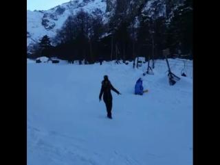 Кто на лыжах...кто на сноуборде...а я на глинтвейне)