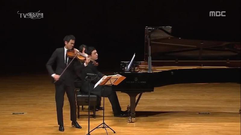 용재오닐 슈베르트 겨울나그네 안녕히Winterreise Gute Nacht in Viola and piano Yongjae o