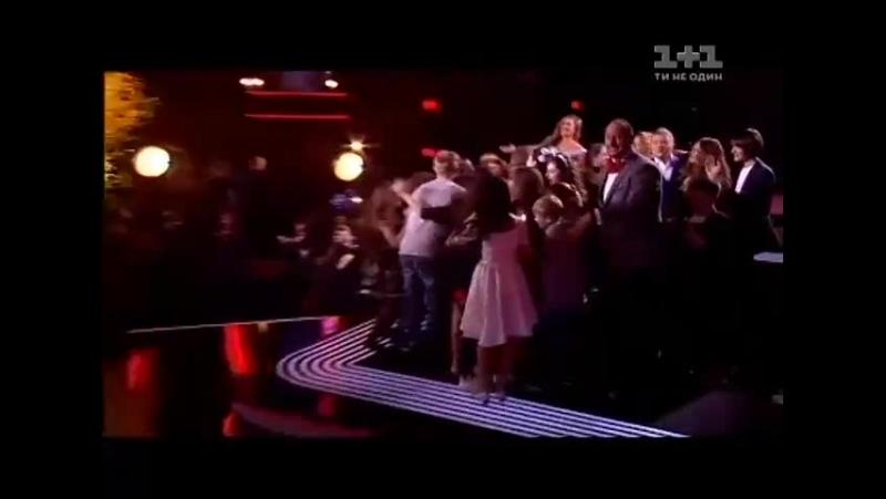 Роман Сасанчин победитель шоу Голос. Дети - Одна калина (Голос. Дети. Суперфинал.2015)