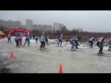 Лыжные  соревнования. Тушино. 28.02.2015. ч.2